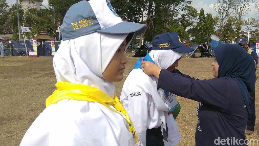 Siswa SD, SMP dan SMA Jadi Relawan Muda di Purworejo