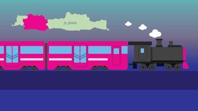 Peta Rel Kereta Jawa Barat yang Bakal Hidup Lagi