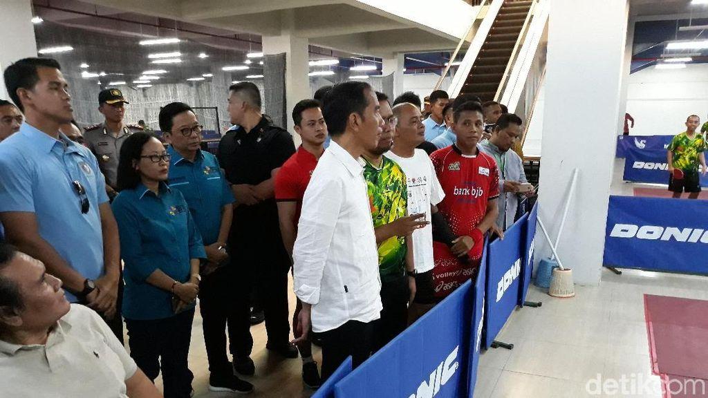 Jokowi Tinjau Persiapan Atlet Asian Para Games di Solo
