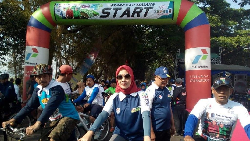Sepeda Nusantara di Malang Jelajahi Bangunan Bersejarah
