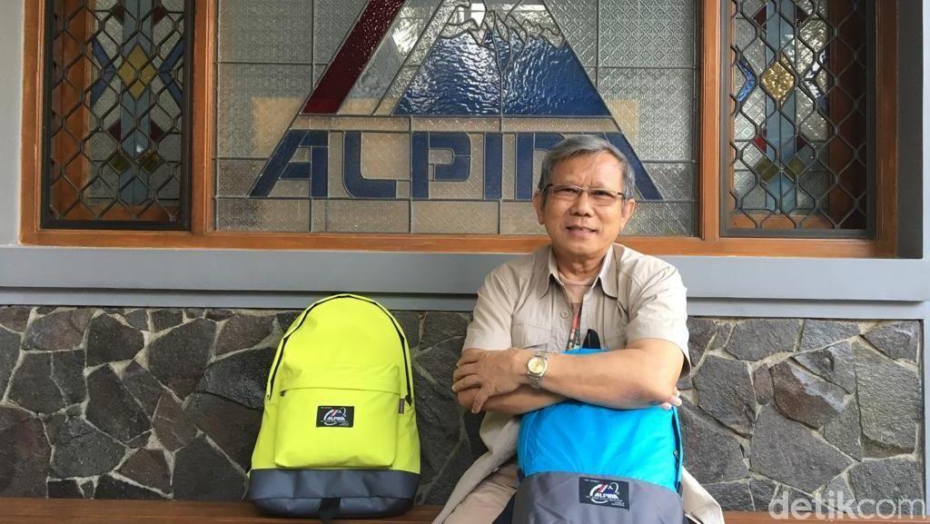 Sejarah Alpina, Tas Legendaris ABG 90-an