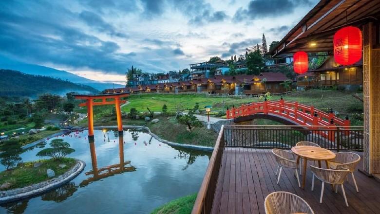 Relaks Batu Punya Pemandian Air Panas Seperti Di Jepang