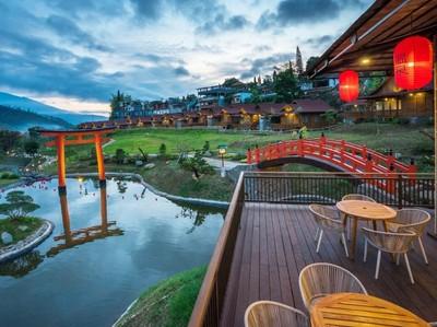 Relaks! Batu Punya Pemandian Air Panas Seperti di Jepang
