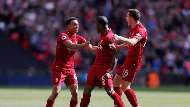 Liverpool berhasil meraih lima kemenangan beruntun di Liga Primer Inggris musim ini.