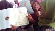 Menteri ATR Bagikan 55 Ribu Sertifikat Tanah di Grobogan