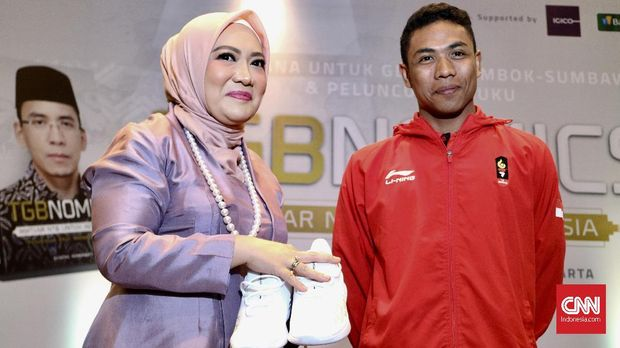 Lalu Muhammad Zohri terkenal sejak menjadi juara Kejuaraan Dunia Junior 2018.