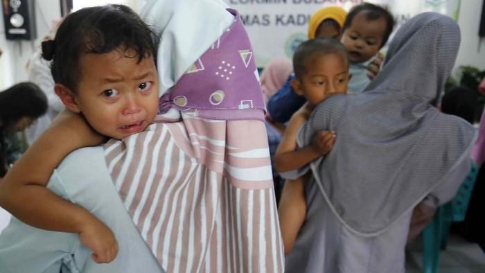 Pencegahan gizi buruk di Pandeglang. (Foto: pool)