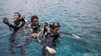 Bawah laut Wakatobi memang bikin lupa daratan (Zaky Fauzi Azhar/detikTravel)