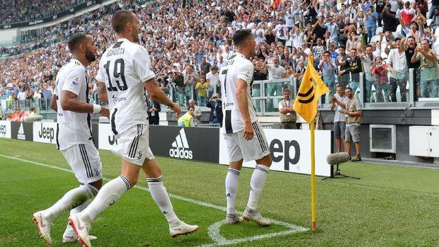 Juventus memimpin klasemen Liga Italia 2018/2019.