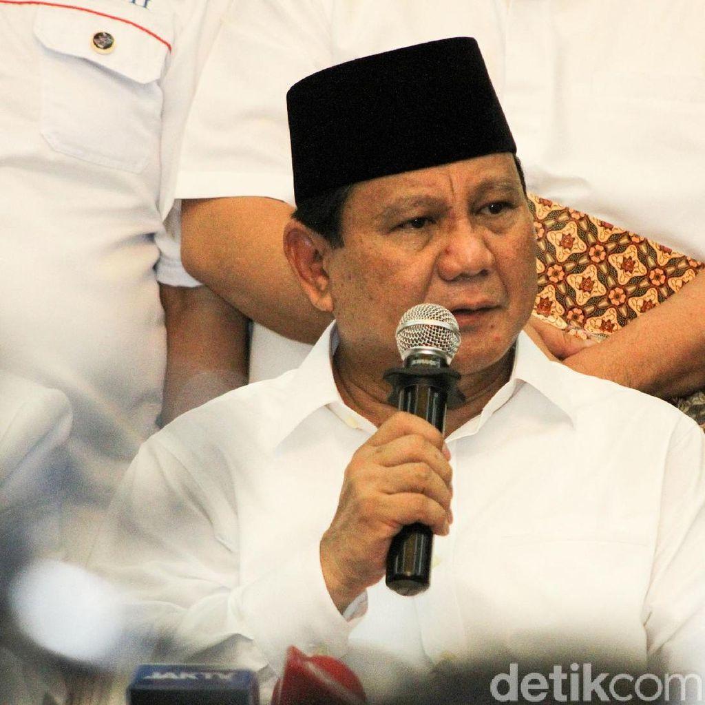 Prabowo Kritik RI Negara yang Bergantung Pada Utang