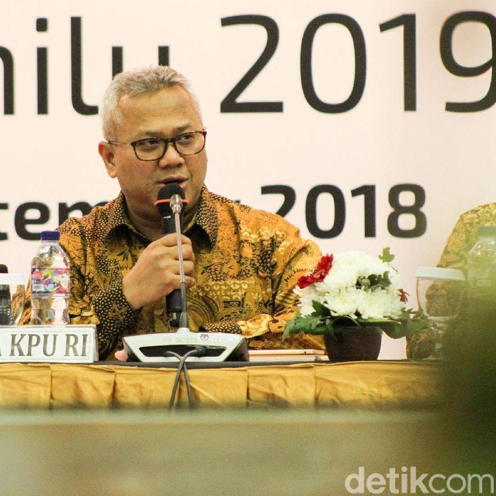 Sambutan Ketua KPU di Debat Capres: Perdebatan Itu Biasa