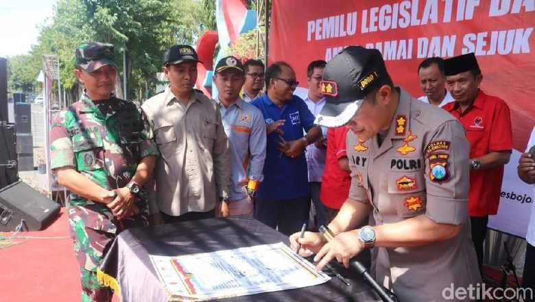 Jelang Tahun Politik, Polri dan TNI Ajak Parpol Jaga Kamtibmas