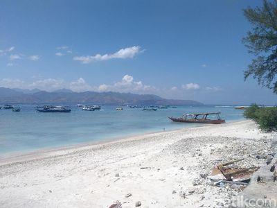 Potret Terkini Gili Trawangan yang Kembali Dikunjungi Turis