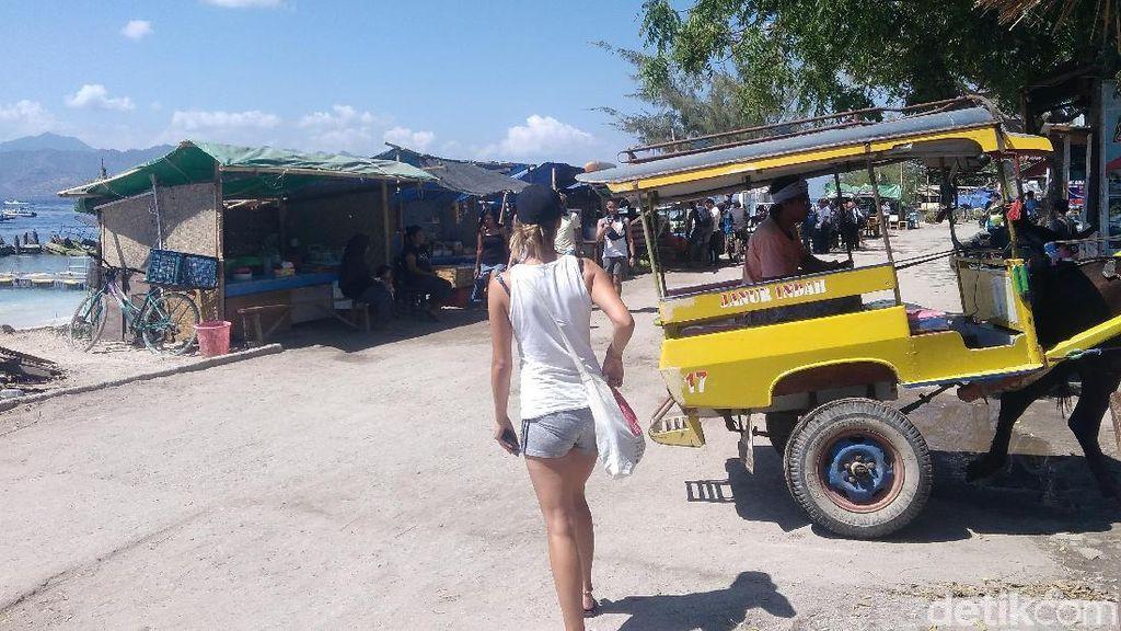 Jumlah Turis Asing di Agustus Turun karena Gempa Lombok