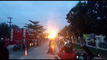 Pipa Gas Chevron di Riau Munculkan Semburan Api