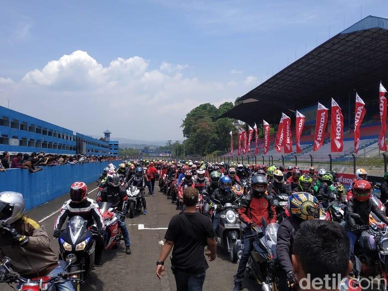 Honda Bikers Parade. Foto: Ridwan Arifin