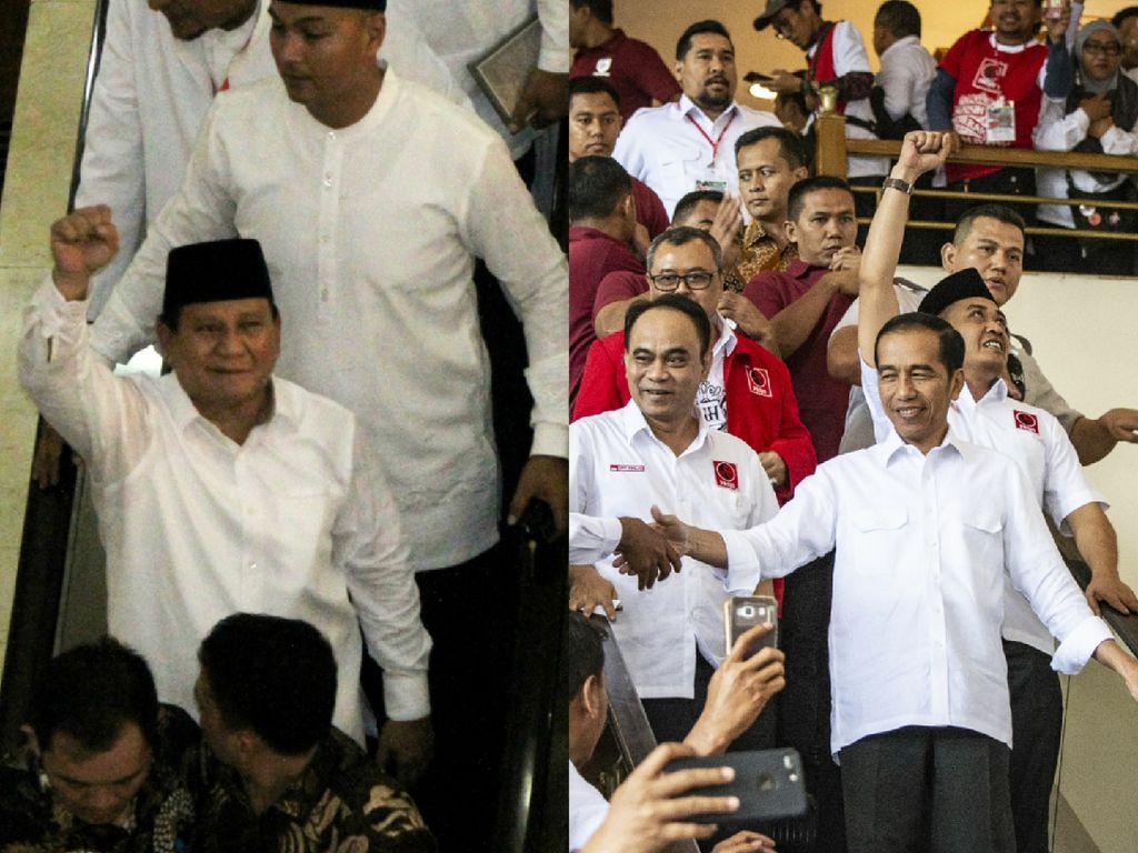 Barisan Para Jubir Timses Jokowi Vs Prabowo