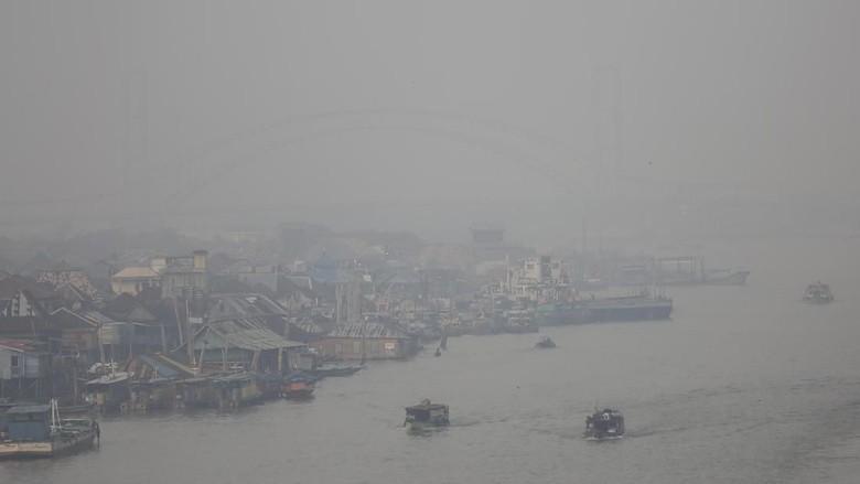 Kabut Asap di Sumsel Berpotensi Makin Pekat pada 22-24 Oktober