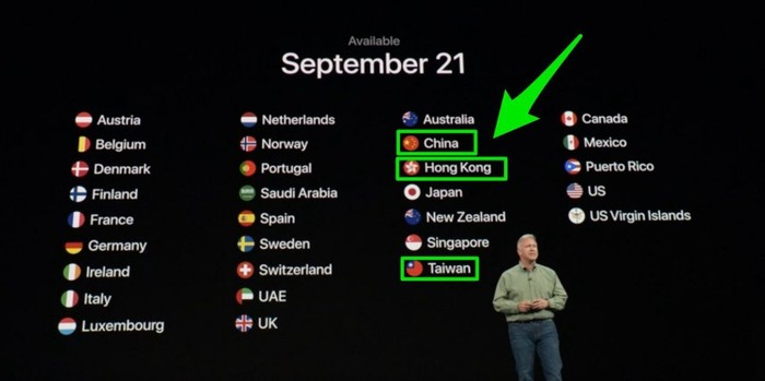 Ini Presentasi Apple yang Bikin China Murka Saat Menyebut Taiwan dan Hong Kong