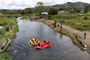 Foto: Rafting Seru di Kaki Gunung Leuser