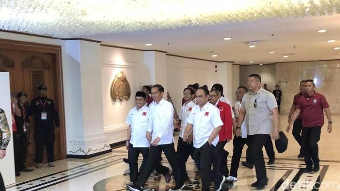 Foto: Jokowi hadiri Rakernas Projo (Jordan/detikcom)