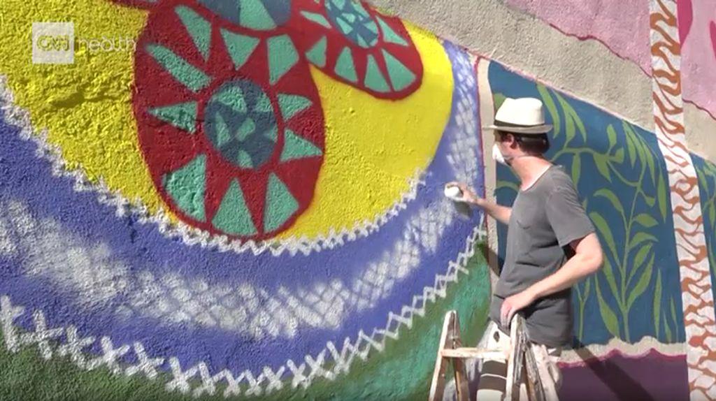 Atasi Stigma Gangguan Mental, Kota Ini Gunakan Karya Seni di Pusat Kota