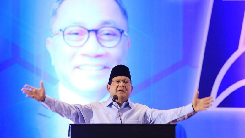 Prabowo Ungkap Cara Ketum PAN Rancang Strategi Turunkan Ahok