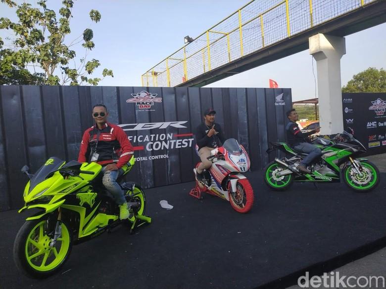 Modifikasi CBR Paling Ganteng di Indonesia CBR Race Day. Foto: Ridwan Arifin