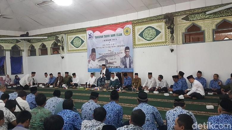 Di Untirta, Maruf Amin Cerita soal Hijrah Jadi Cawapres