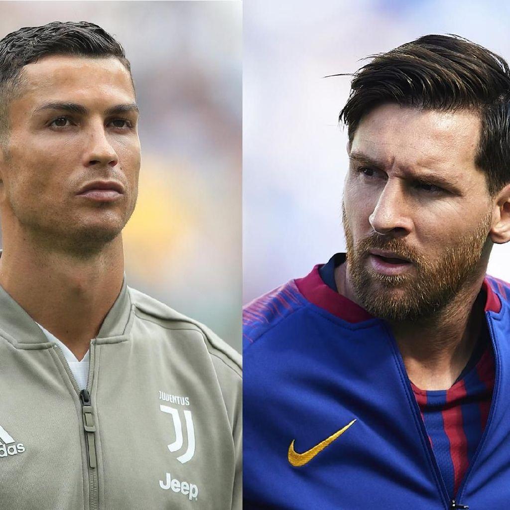 Messi Bikin Ronaldo Jadi Lebih Bagus