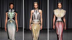 Unik, Inspirasi Botol Parfum di Koleksi Busana Desainer Favorit Ibu Negara