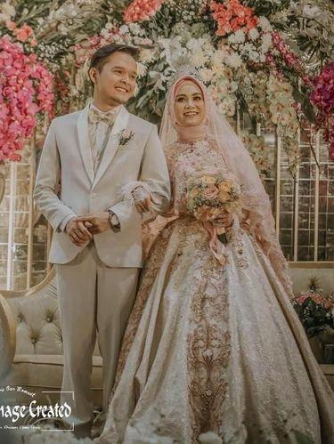8 Inspirasi Gaun Pengantin Muslimah Dari Artis Hingga Selebgram