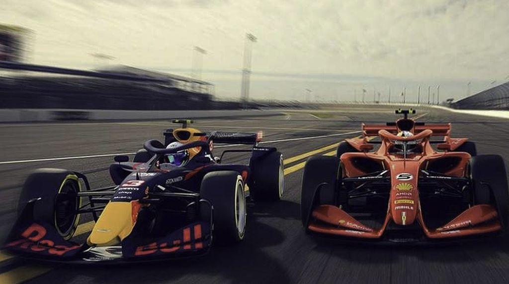 Ini Bocoran Jet Darat Formula 1 di 2021