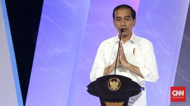 Presiden Joko Widodo, di Jakarta, Senin (17/9).