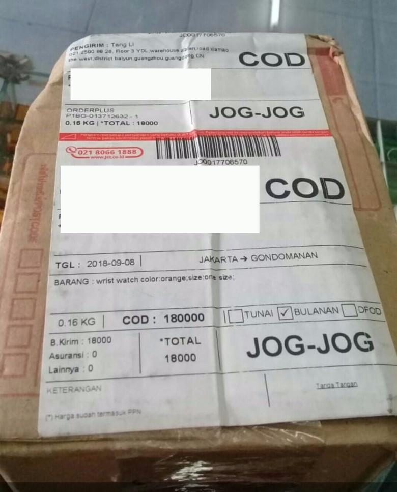 Terungkap! Ini Isi Paket dari China yang Viral Dikira Narkoba