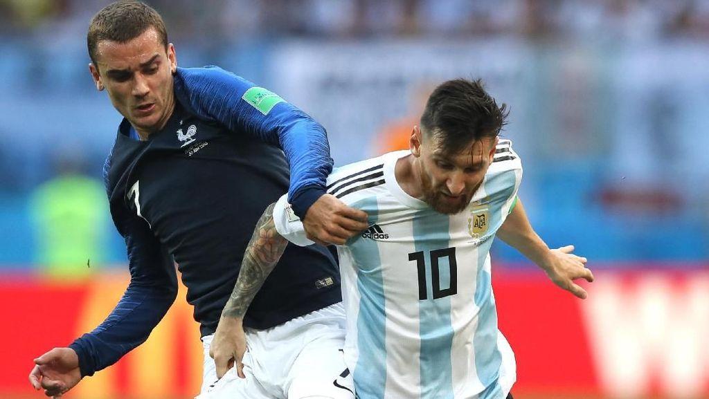 Griezmann Ngaku Selevel dengan Messi dan Ronaldo