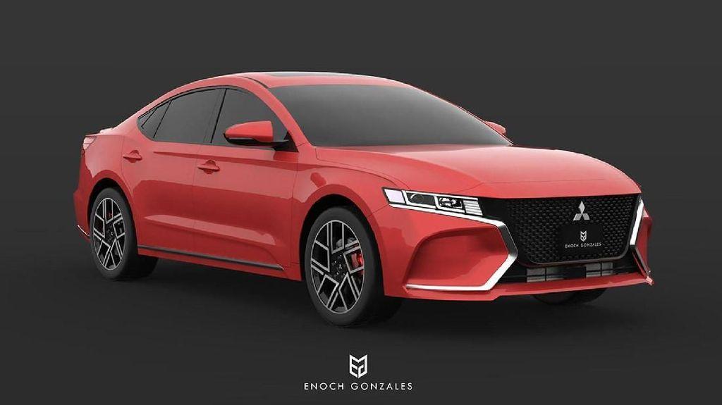 Desain Generasi Terbaru Mitsubishi Galant di 2020, Keren Gak?