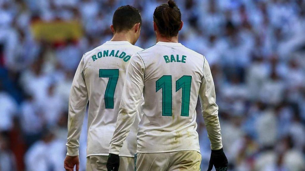 Bale Ungkap Sisi Positif Kepergian Ronaldo bagi Madrid