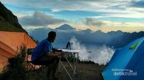 Kabar Terbaru Gunung Rinjani, Pendakian Dibuka Tahun 2020
