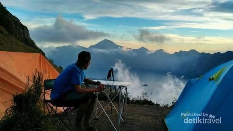 Ilustrasi Gunung Rinjani (akbar/dTraveler)