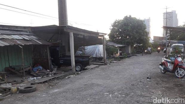 Lokasi WNA ditemukan mengukur tanah di Jati Mulya, Bekasi