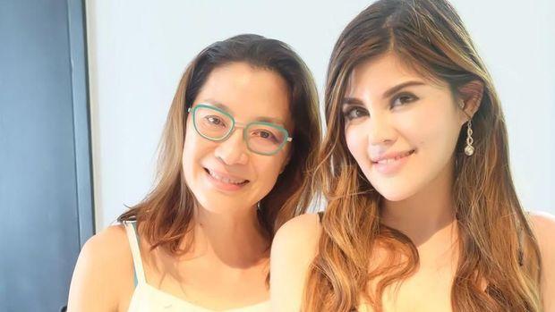 Michelle dan Dita Soedarjo