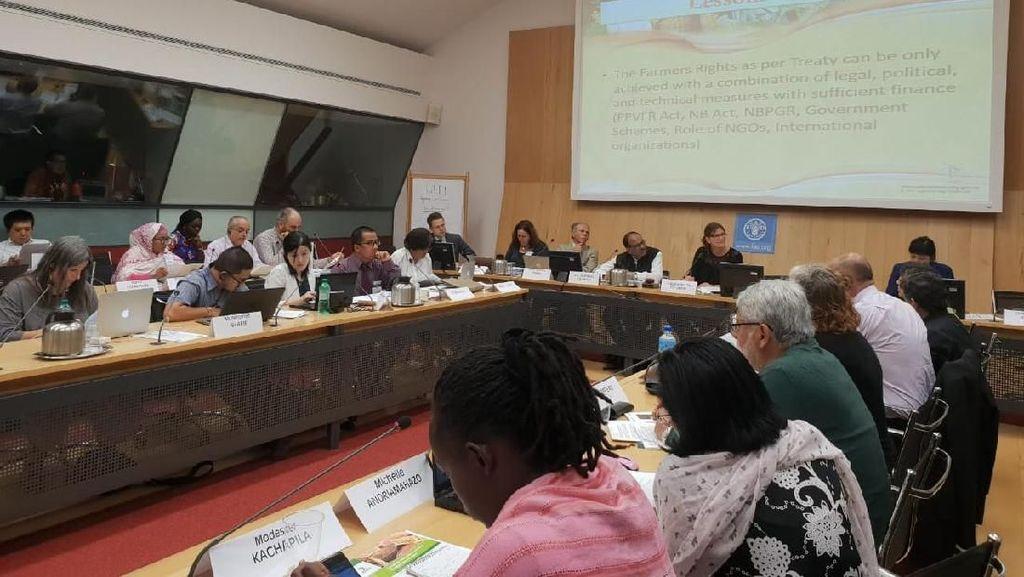 Di Forum Internasional, Indonesia Dukung Hak-hak Petani