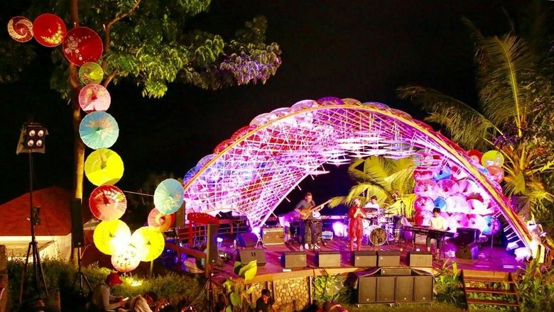 Foto: Acara konser musik Jazz Ijen Banyuwangi (Ardian/detikTravel)