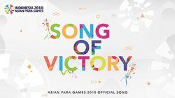 Song of Victory untuk Asian Para Games Juga Ada Versi Korea
