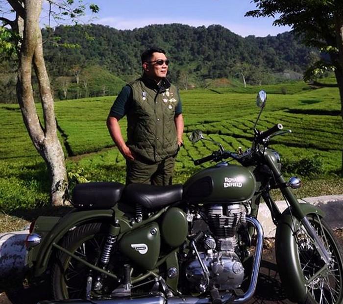 Ridwan Kamil dan Hobi Motornya