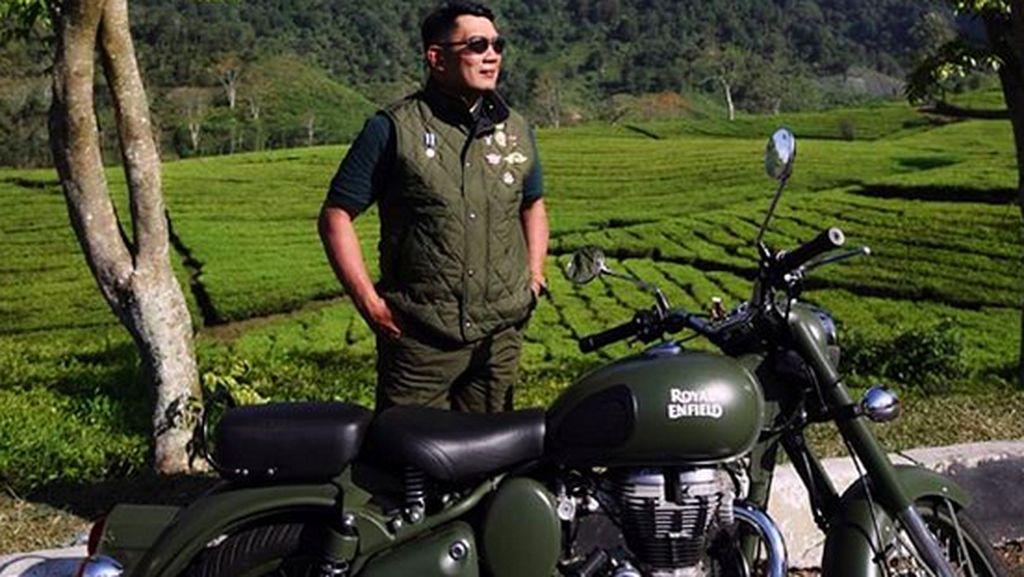 Jadi Anggota Klub Motor, Ridwan Kamil Makin Rajin Touring
