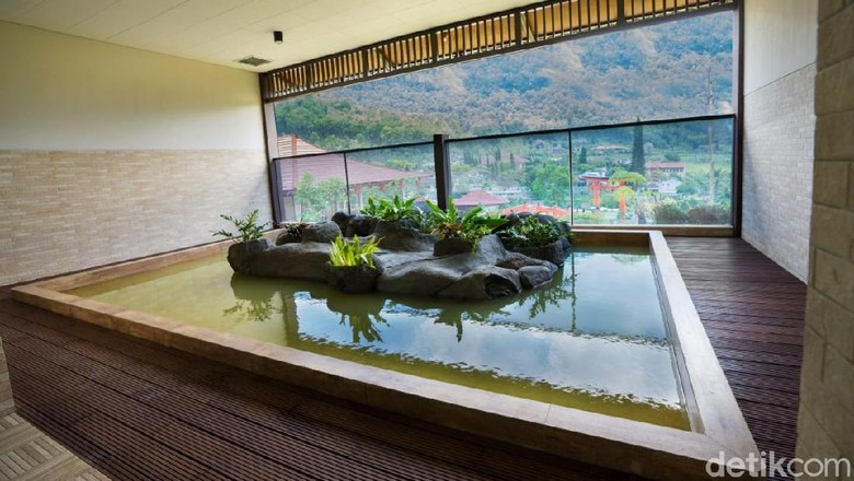 Yukata di The Onsen Hot Spring Resort (Muhammad Aminudin/detikTravel)