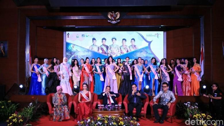 Finalis Putri Pariwisata Indonesia 2018 (Randy/detikTravel)