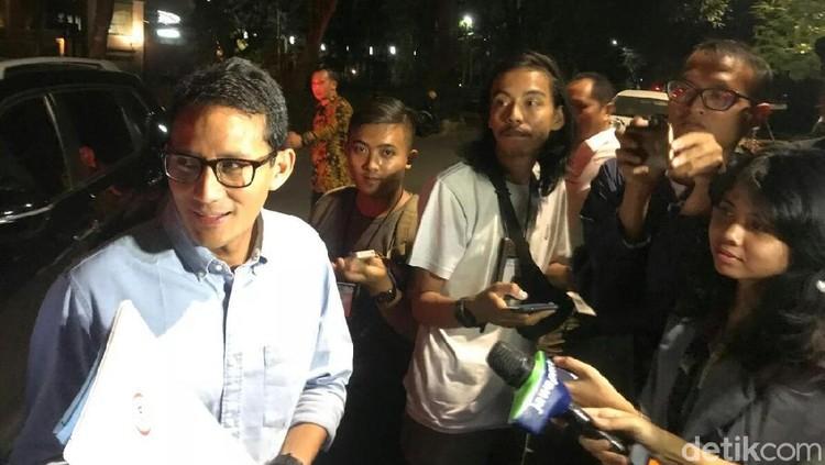 Bahas Timses, Sandiaga Hingga Sohibul Merapat ke Rumah Prabowo